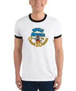 Chuck E Cheese Smile Ringer T-Shirt