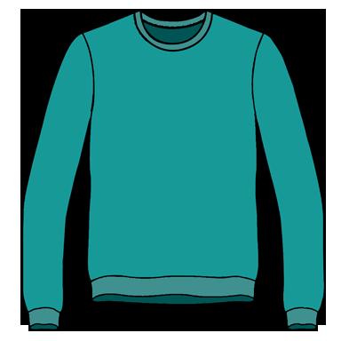 Sweatshirt Unisex Size