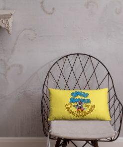 Chuck E Cheese Smile Basic Pillow