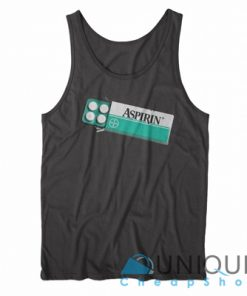 Aspirin Aesthetic Unique Design Tank Top, Men's and Women's Tank Top, Graphic Tank Top.