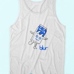 Blur Band Milk Logo Tank Tops