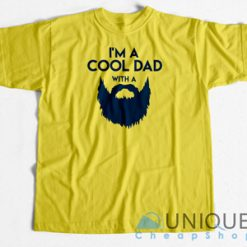 Dad Beard Cool Dad T-shirt