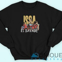 Issa Blanc 21 Savage Sweatshirt