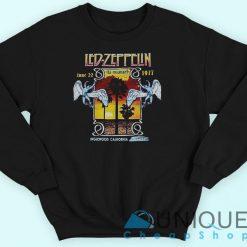 Led Zeppelin 1977 Inglewood Concert Sweatshirt