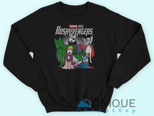 Siberian Husky Huskyvengers Marvel Avengers Endgame Sweatshirt