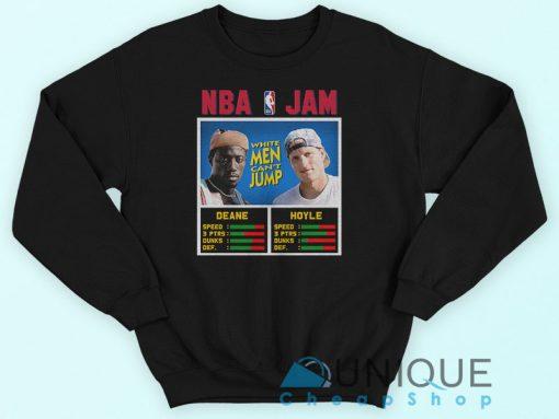 NBA Jam Vs White Men Can't Jump Sweatshirt