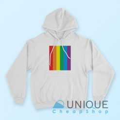 The 1975 Rainbow Loving Someone Hoodie