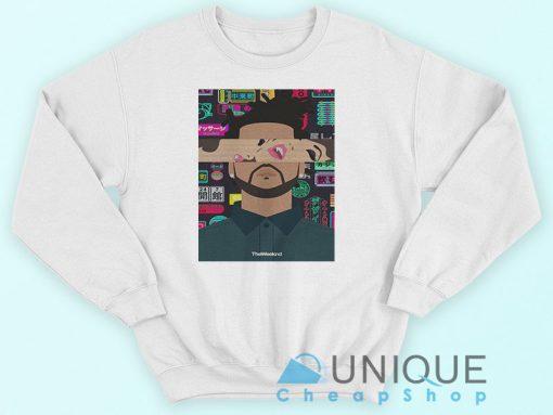 The Weeknd Kiss Land Tour Sweatshirt