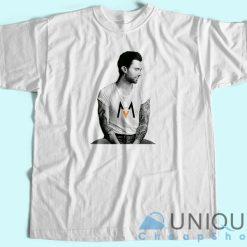 Adam Levine Maroon 5 T-Shirt White