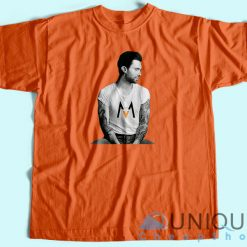 Adam Levine Maroon 5 T-Shirt Orange