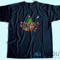 Aerosmith Band Merry Christmas T-Shirt