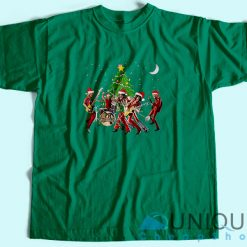 Aerosmith Band Merry Christmas T-Shirt
