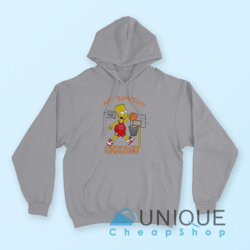 Air Bart Simpson Hoodie
