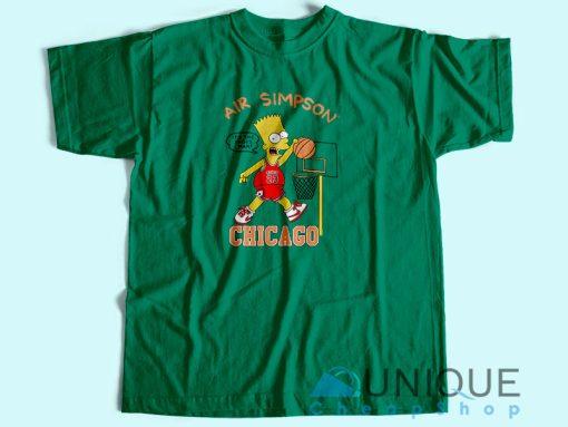 Air Bart Simpson T-Shirt