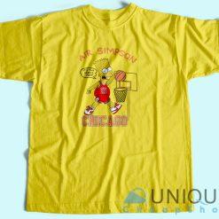 Air Bart Simpson T-Shirt Yellow
