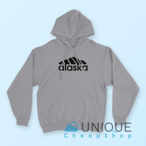 Alaska Adidas Logo Hoodie