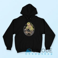 Alice in Wonderland Punk Rock Hoodie