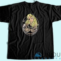 Alice In Wonderland Punk T Shirt
