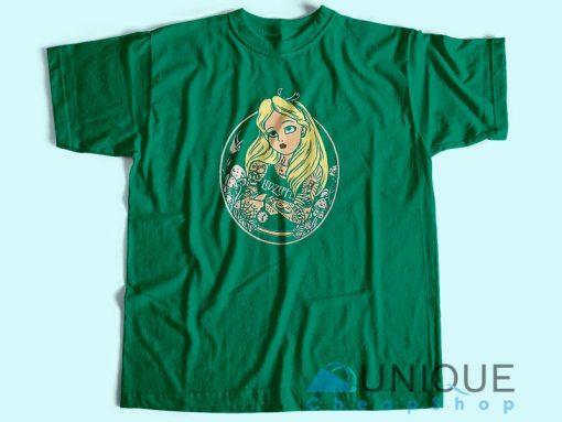 Alice In Wonderland Punk T Shirt