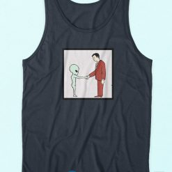 Alien Handshake Tank Top
