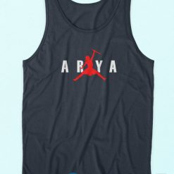 Arya Jordan Stark Game Of Thrones Parody Not Today Tank Top