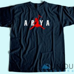 Jordan Arya Stark Air Jump Parody T Shirt