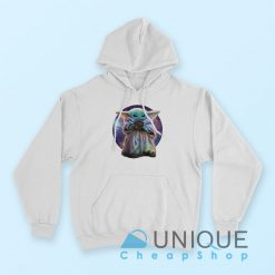Baby Yoda Galaxy Want Soup Hoodie