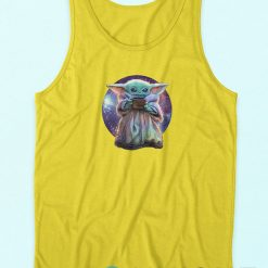 Baby Yoda Star Wars Want Soup Tank Top