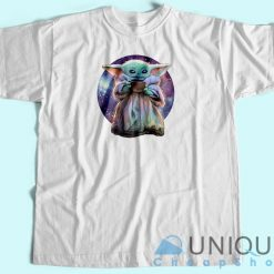 Baby Yoda Want Soup Galaxy T Shirt