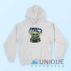 Baby Yoda Hug Seattle Seahawks Hoodie