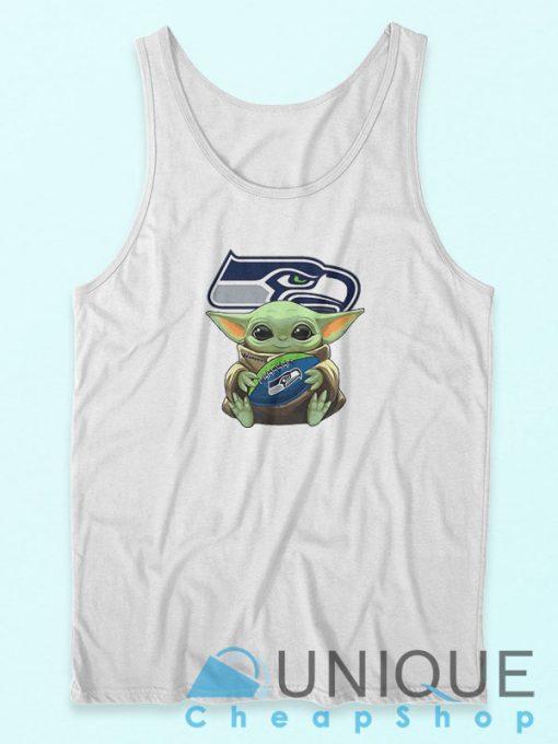 Baby Yoda Seattle Seahawks Tank Top