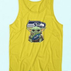Baby Yoda Seattle Seahawks Tank Top
