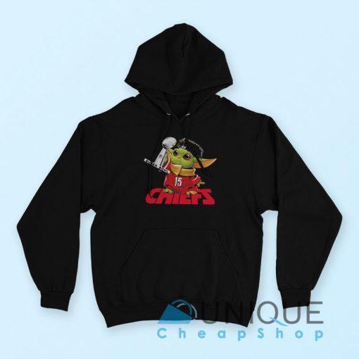 Baby Yoda Kansas City Chiefs Super Bowl Hoodie