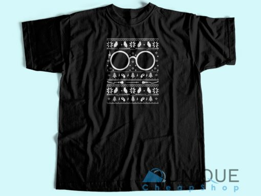 Harry Potter Ugly Christmas T shirt