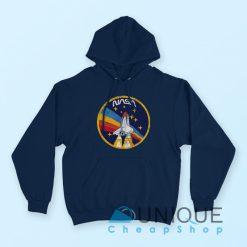 Nasa Rocket Vintage Hoodie