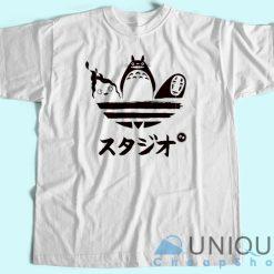 Totoro Adidas T shirt