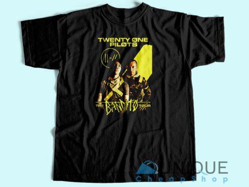 Twenty One Pilots The Bandito Tour-2018 T-Shirt