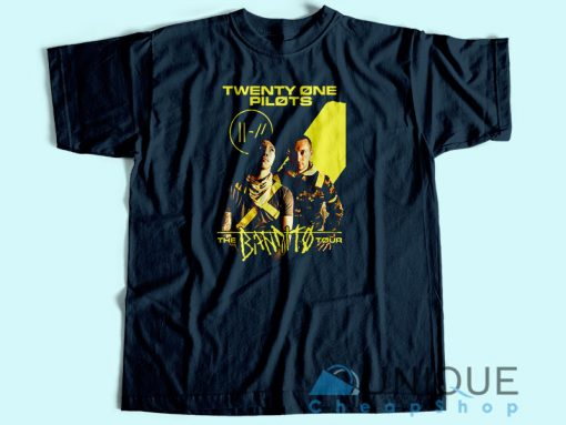 Twenty One Pilots The Bandito Tour 2018 T Shirt