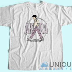 Akira Anime Young Magazine T-Shirt