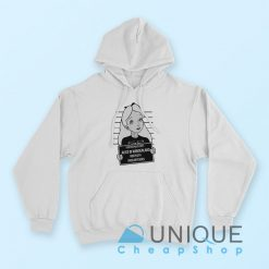 Alice in Wonderland Hoodie White