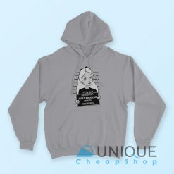 Alice in Wonderland Hoodie Grey