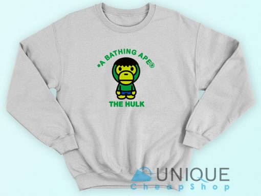 Bape X The Hulk Sweatshirt