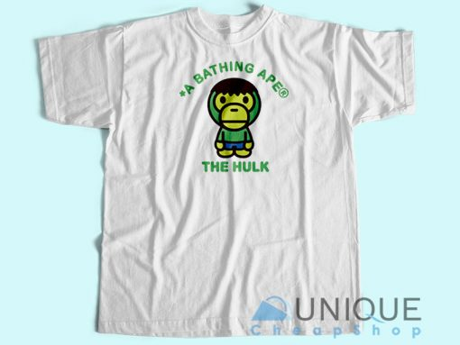 Bape Marvel Hulk T-Shirt