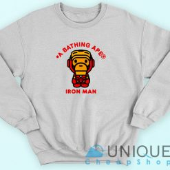 Bape X Iron Man Sweatshirt