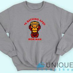 Bape X Iron Man Sweatshirt