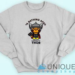 Bape X The Mighty Thor Sweatshirt