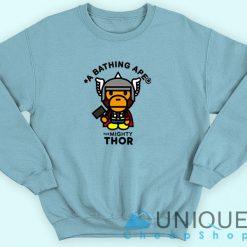 Bape X The Mighty Thor Sweatshirt