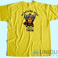 Bape Marvel Thor T-Shirt