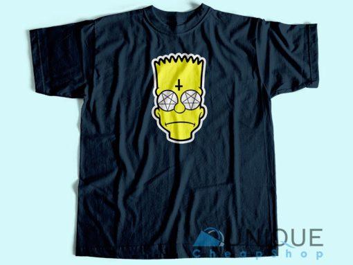 Bart Simpson Satanic T-Shirt