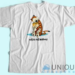 Calvin and Hobbes Big Hugs T-Shirt